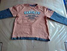 Pullover Shirt Longleevers von S. Oliver in Größe 128 in orange Lagenlook