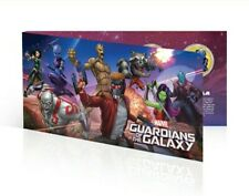More details for marvel's **guardians of the galaxy** 24k gold plated complete coin set