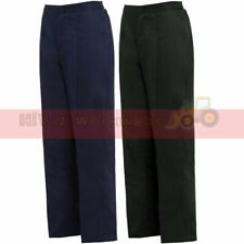 Ladies Work Trousers Healthcare Beauty Care Uniform Pants Half Elastic Waistband