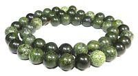 😏 Afrikanischer grüner Jaspis Perlen Kugeln 8 mm Edelsteinperlen Strang 😉