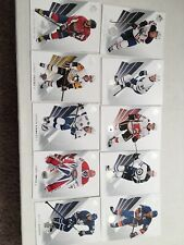 2017-18 Upper Deck SP AUTHENTIC HOCKEY Complete Base Set Cards 1 thru 100