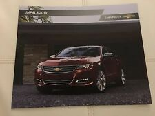 2019 CHEVY IMPALA 28-page Original Sales Brochure