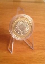 1998 Bailiwick Of Jersey £2 Two Pound Coin Very Rare In Capsule