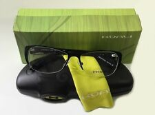 Koali Marius Morel Eyeglasses 7053K 52/15/125 NN040 Black Frame Made in France