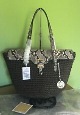 Michael Kors Magnetic Snap Snakeskin Handbags