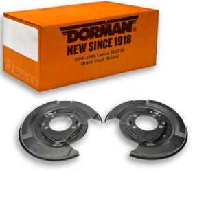 Dorman Rear Brake Dust Shield for 2004-2006 Lexus RX330 Hardware  bt