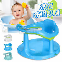 Newborn Infant Baby Bath Seat Tub Chair Anti-slip Bathtub Bathing Shower Chair