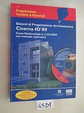 SISTEMI DI PROGETTAZIONE ARCHITETTONICA CINEMA 4D (45 D 1)