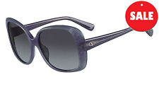 Ladies Designer Valentino V618/S C404 Blue Oversized Sunglasses