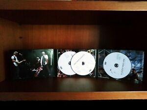 cofanetto triplo DVD Claudio Baglioni Tour Crescendo e Cercando