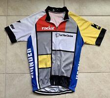 La Vie Claire Bike Jersey Cycling Bicycle Radar Wonder Size M