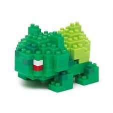Authentic Kawada Pokemon Nanoblock Micro Building Blocks - Bulbasaur