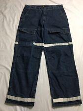 Vtg Marithe Francois Girbaud Jeans Mens 40x35 Straight Leg Baggy Deep Pocket EUC
