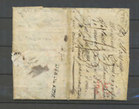 1807 Lettre Marque DEB DE RIOM, 35x3mm, Lettre de Soldat Armée Italie X4634