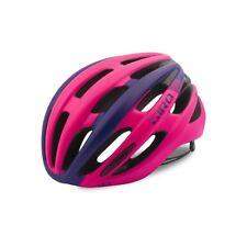 Giro Saga Cycling Helmet (Black/Bright Pink / Women's / Medium Size)
