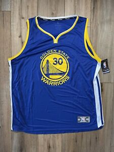 Golden State Warriors Steph Curry Men's Size 2XL Fanatics Nike Branded Jersey