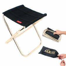 AU Portable Aluminum Folding Chair Stool Seat For Outdoor Fishing Camping Picnic