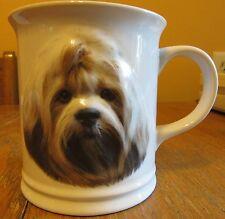 2003 Barbara Augello Lhasa Apso Best Friends Originals Coffee Tea Cup Mug 3-D