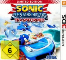 Nintendo 3ds sonic all stars racing transformed Limited NEUF