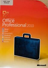 New Microsoft Office 2010 Professional -Genuine brand in sealed box!