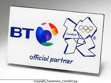 OLYMPIC PIN 2012 LONDON ENGLAND BT SPONSOR PARTNER LOGO
