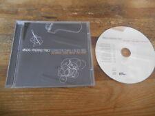 CD Jazz Mads Vinding Trio - Six Hands Three Minds (12 Song) STUNT / SUNDANCE jc