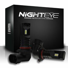 NIGHTEYE 9005 HB3 1600LM LED Fog Light Bulbs Car Lamp DRL Replace Halogen 6500K