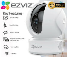 EZVIZ 1080p Indoor Pan/Tilt WIFI Security Camera, 360° Full Room 2-Way Talk C6CN