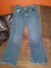 boys wrangler jeans size 16 regular adjustable waist