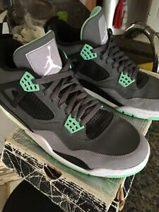 Jordan 4 Retro Green Glow - 10.5