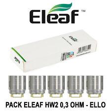 5 Résistances ELEAF HW2 0,3 Ohm pour ELLO et ELLO T de ELEAF. AUTHENTIQUE
