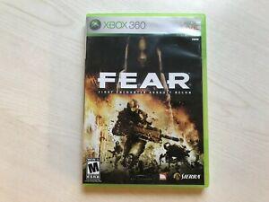 F.E.A.R. (Xbox 360) Game ***USA VERSION***NTSC USED