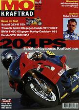 mo 2000 4/00 BMW F 650 GS Cagiva Raptor Honda VTR 1000 SP-1 KTM LC4 640 Hayabusa