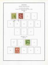 Spanish Andorra Vintage Stamp Collection