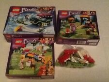 LOT OF 3 BRAND NEW GIRL FRIENDS LEGO SETS & 100+FREE PIECES OF USED LEGO