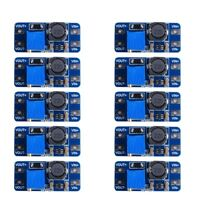 10pcs MT3608 DC-DC 2-24V to 5-28V 2A Step Up Booster Module Power Supply