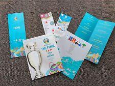 More details for england v italy euro 2020 flnal programme + vip menu + replica tlcket 11/7/ 21!!
