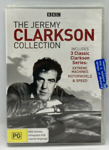 The Jeremy Clarkson Collection - 3 Clarkson Series - BBC R4 DVD - New & Sealed