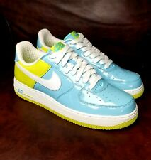 Air Force 1 RARE White/Atomic Green Sz10M Pat. Leather. EXCELLENT CONDITION!!!