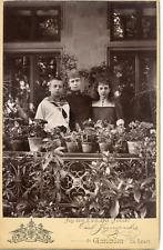 Thyra, Prinzessin von Cumberland, & ses enfants, Marie Luise & Georg Wilhelm Vin