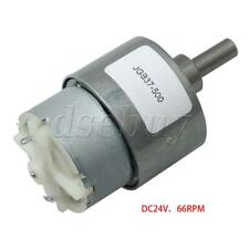 DC24V 66RPM Geared Motor 6mm Shaft Dia Motor Reducer 79MA Rated Current