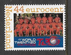 HOLLAND Netherlands 2009 WORLD T20 CRICKET 1v MNH