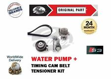 FOR AUDI S3 1.8 TURBO QUATTRO APY 1998-2001 TIMING CAM BELT KIT + WATER PUMP SET