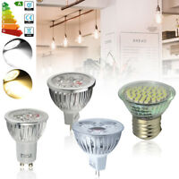 Ultra Bright CREE MR16/GU10/E27 4W 6W Warm/Day White LED Spotlight Bulbs US