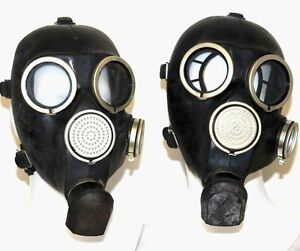 SET of two Gas Masks GP-7 ONLY Soviet Russian NEW VINTAGE GENUINE RETRO USSR