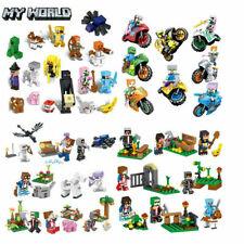 16Stk Minecraft My World Series Mini Figuren Bausteine Kinder Geschenk Fit Lego