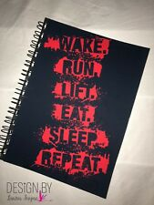 Weights Book / journal / workout fitness tracker / gym diary / training / Repeat
