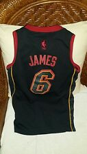 Adidas limited edition miami heat lebron james #6 nba jersey size S youth