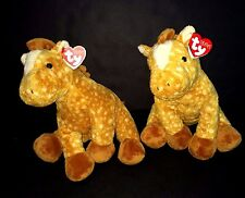 Two Ty Pluffies Lasso the Horse brown tan dappled Soft plush stuffed toys