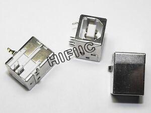 10PCS 4-Pin usb-b usb b square Female Socket Connector